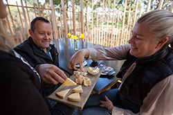 Cheese Tasting on Bruny Island Traveller