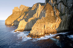 Tasman Island Cruises at Cape Pillar