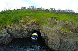 Cave Iron Pot Cruises near Hobart